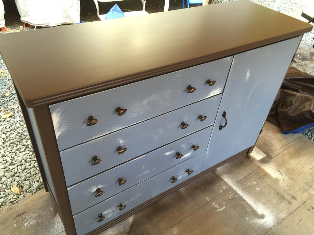 reconstructed chest of drawers