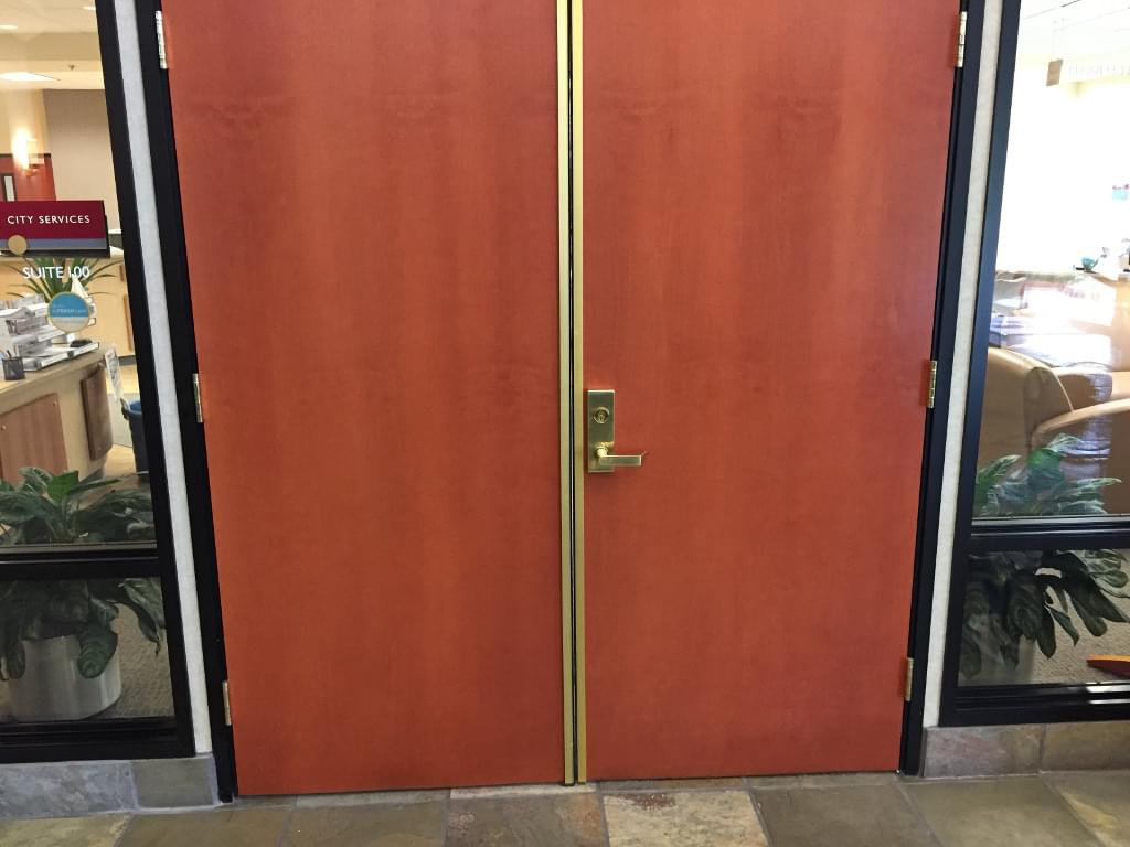 improved door