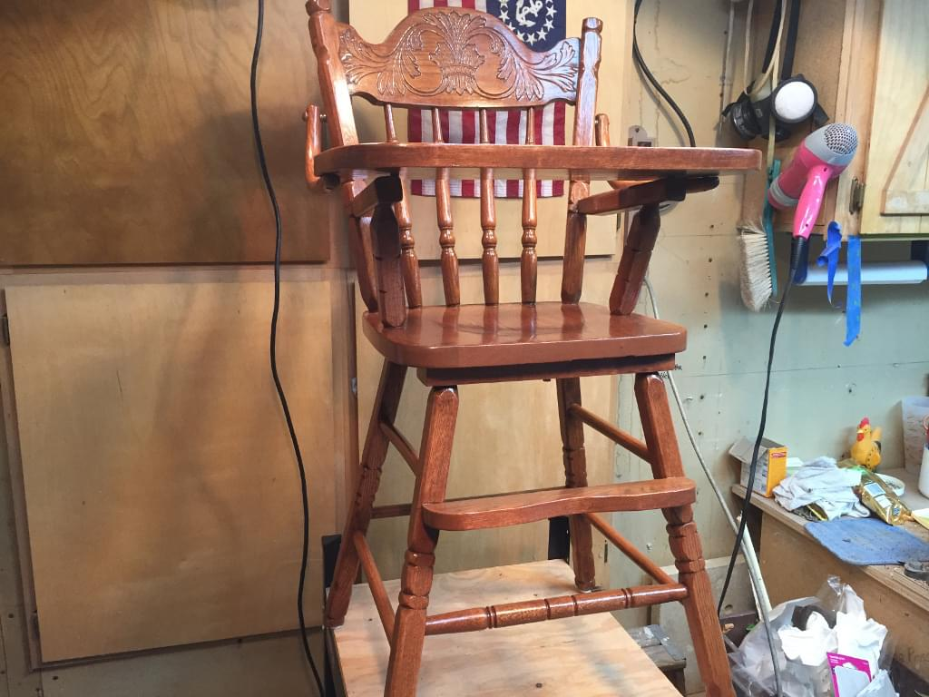 renewed high chair